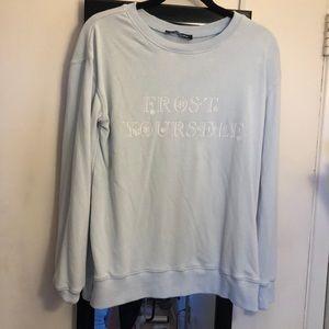 Kittenish Frost Yourself Sweatshirt